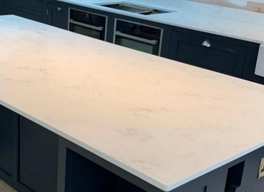 Carrara Bianco Worktop and stone kitchen worktops from Classic Stone ltd @ www.kitchenstoneworktop.com
